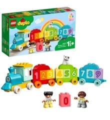 LEGO DUPLO - Tog med tal – lær at tælle (10954)