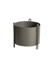 Woud - Pidestall Flowerpot Small - Taupe (150200)
