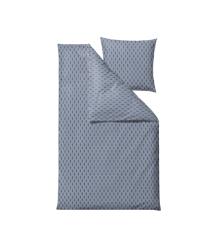 Södahl - Graphic Bedding Sets 140 x 200 cm - Sky Blue (13975)