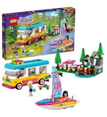 LEGO Friends - Skov-autocamper og sejlbåd (41681)