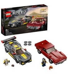 LEGO Speed Champions - Chevrolet Corvette C8.R-racerbil and 1968 Chevrolet Corvette (76903)