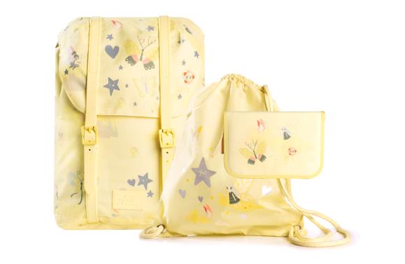 Frii of Norway - School Bag Set - Yellow