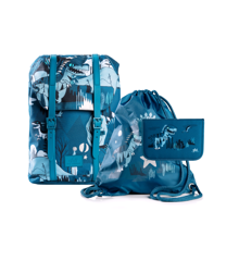 Frii of Norway - School Bag Set - Dinosaur