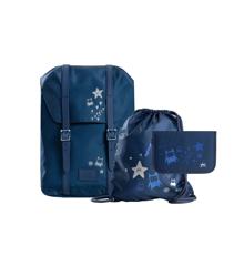 Frii of Norway - School Bag Set - Night Blue