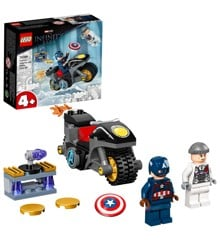 LEGO Super Heroes - Captain America and Hydra Face-Off (76189)