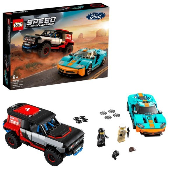 LEGO Speed Champions - Ford GT Heritage Edition and Bronco R (76905)