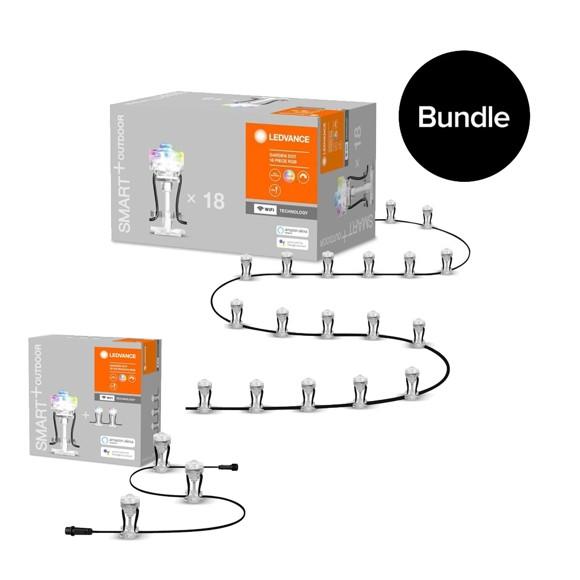 Ledvance - SMART+ Wi-Fi Garden Lightchain 18 Dots + Garden Lightchain 3 Dots - Bundle