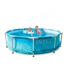 INTEX - Beachside Metal Frame Pool Set (Filter Pump) 4.485 L (28208)