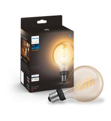 Philips Hue - E27 Filament G93 - White Ambiance