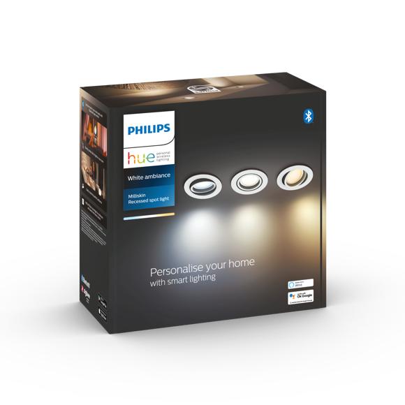 Philips Hue - Milliskin Hue recessed