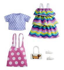Barbie - Fashion 2-Pakke - Pink Polka-Dot Jumper (GRC87)