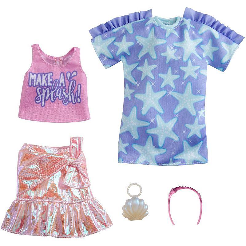 Barbie - Fashion 2-Pakke - Star-Print Dress (GRC88)