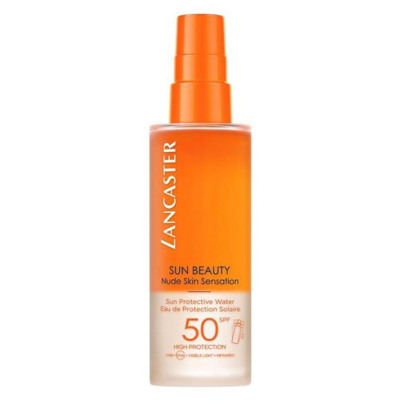 Lancaster - SUN BEAUTY Nude Skin Sensation Protective Water SPF50 150 ml