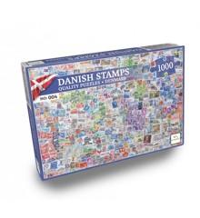 Nordic Quality Puzzles - DA:004 - Danish Stamps (1000 pieces) (LPFI7621)