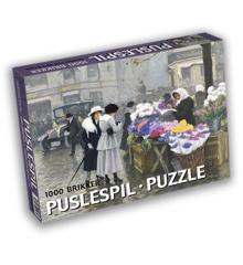 Art Puzzle - Paul Fischer (1000 pieces)
