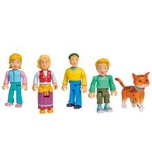 Fireman Sam - Family Jones set w/5 figures