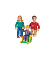 Fireman Sam - Family Sparkes set w/3 figures