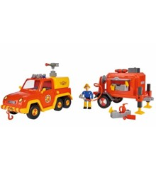 Fireman Sam rescuing vehicle w/figure and accessories