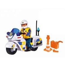 Fireman Sam - Police bike w/figure