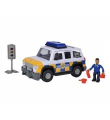 Fireman Sam - Police car w/figure 19cm