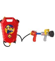 Fireman Sam - Water pistol w / tank, backpack