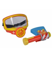 Fireman Sam - Rescue set w / oxygen mask and axe