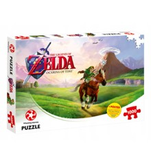 The Legend of Zelda: Ocarina of Time puslespil (1000 pieces) (WIN2950)