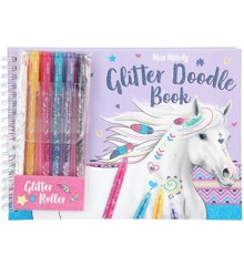 Miss Melody - Glitter/Doodle Book (048590)