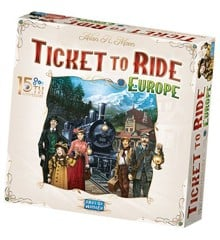 Ticket To Ride - Europe - 15th Anniversary Edition (Nordic) (DOW720933)