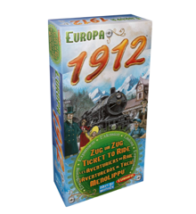 Ticket To Ride - Europe 1912 Expansion Pack (DOW720111)