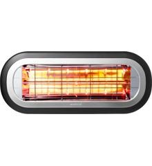 Wishco - 1500 Mini Patio Heater W/Ultra Low-Glow Technology