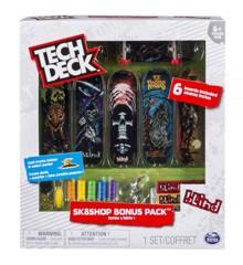 Tech Deck - Finger Skateboards - Bonus Sk8 Shop - Blind
