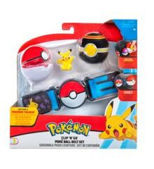 Pokemon - Clip 'N Go Poke Ball Belt - Pikachu (95283)