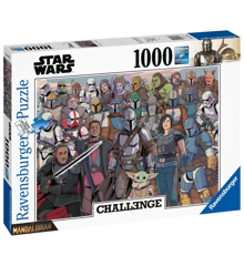 Star Wars - Challenge Baby Yoda Puzzle (1000 pieces) (PEG6770)