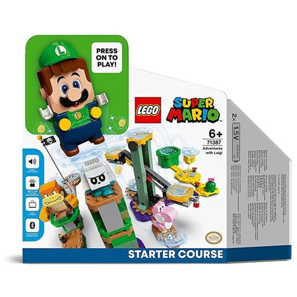 LEGO Super Mario - Eventyr med Luigi startbane (71387)