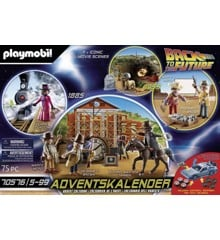 Playmobil - Advent Calendar: Back to the Future Part III (70576)