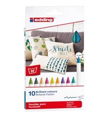 Edding - 10 Felt Textile Colors Fun (706830)