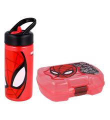 Euromic - Spider-Man Lunch Box & Water Bottle