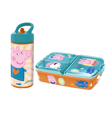 Euromic - Peppa Pig Lunch Box & Water Bottle