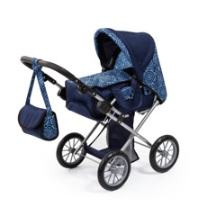 Bayer - Dolls Pram - City Star - Blue (13603AA)