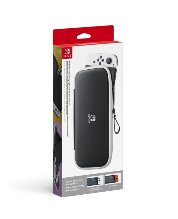 Nintendo Switch OLED Carrying Case Inc Screen Protection