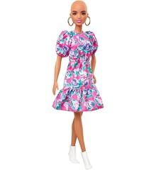 Barbie - Fashionistas Doll - No Hair Floral Dress