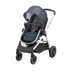 Maxi-Cosi - Zelia2 Strollers - Essential Graphite (Dark Grey Frame + Black Leather)