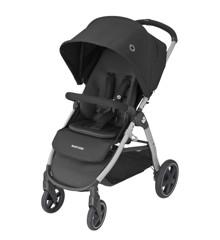 Maxi-Cosi - Strollers Gia - Essential Black(Grey Alu Frame + Black Leather)