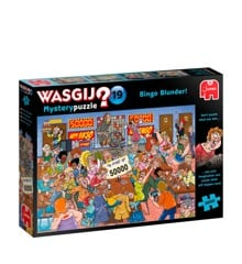 Wasgij Mystery puzzle 19: Bingo Blunder (1000 pieces) (JUM9182)