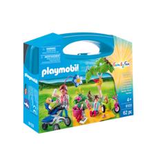 Playmobil - Familie picnic kuffert (91037)