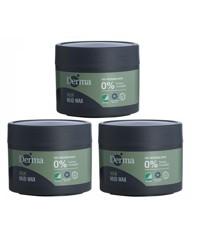 Derma - 3 x Man Mud Wax 75 g