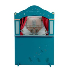 Moulin Roty - Large Puppet Theatre - Blue