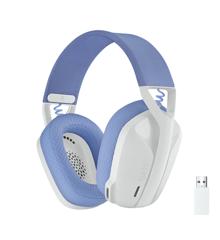 Logitech - G435 Lightspeed Wireless Gaming Headset - White