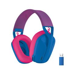 Logitech - G435 Lightspeed Wireless Gaming Headset - Blue